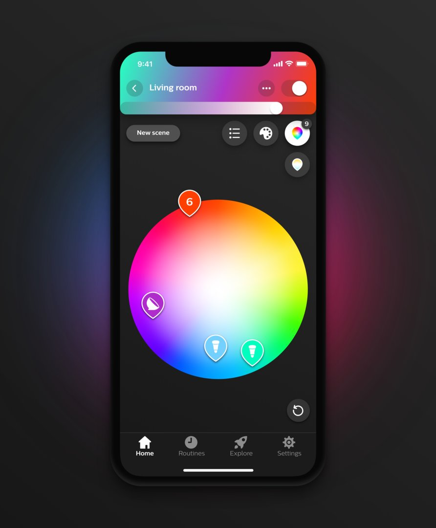 Philips Hue 3.0 – Farbauswahl