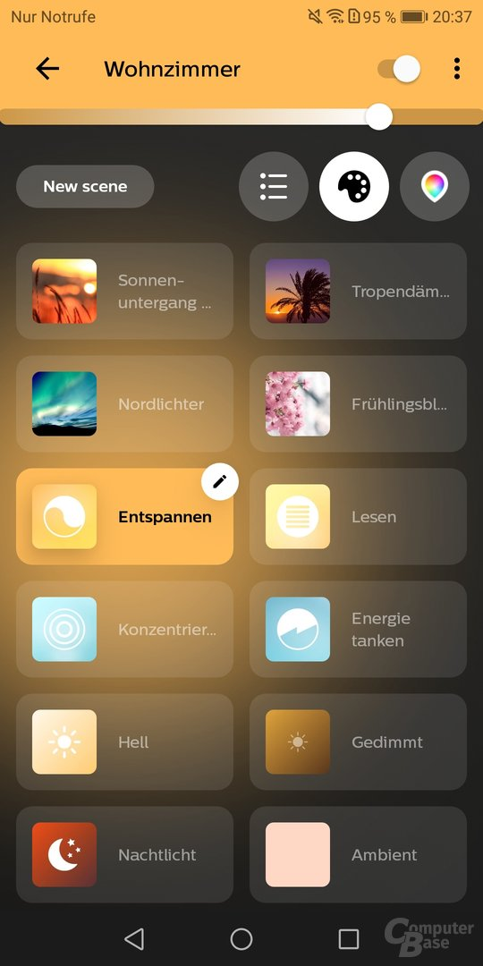 Neue Philips Hue-App 3.0 (Android)