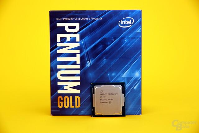 Intel Pentium Gold G5400