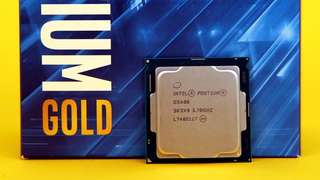 Intel Pentium Gold G5400 im Test: Schneller als der Pentium G4560, aber noch nicht besser