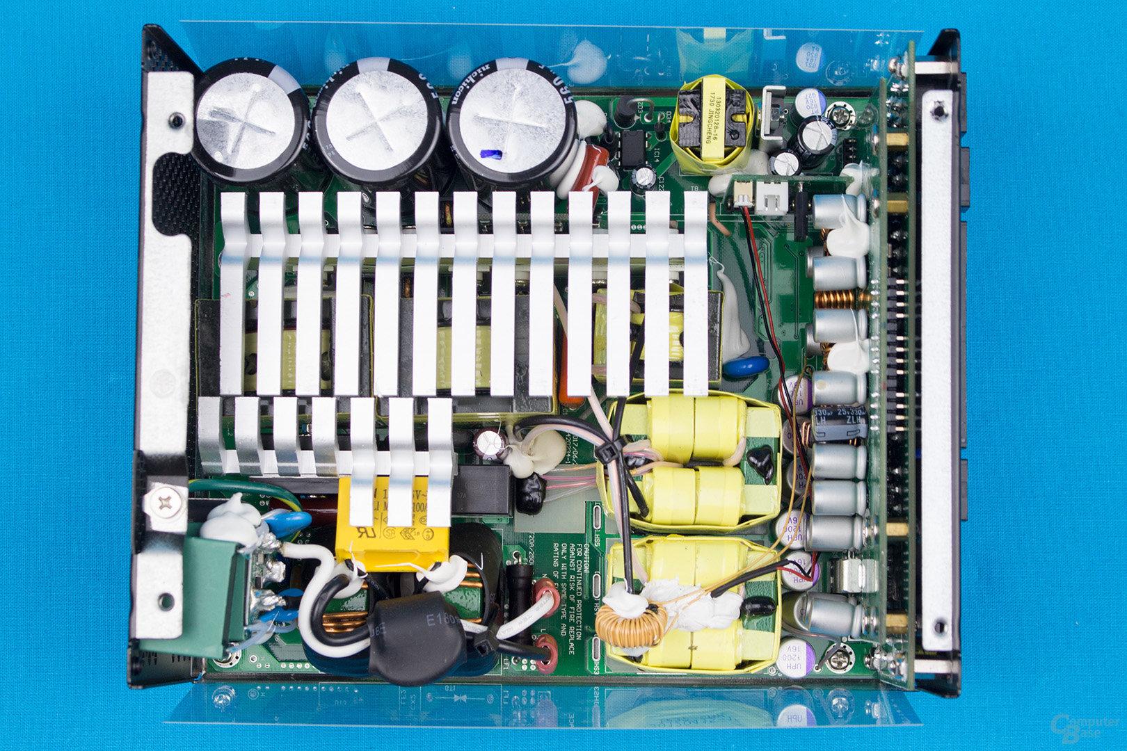 Kolink Continuum 1500W – Überblick Elektronik