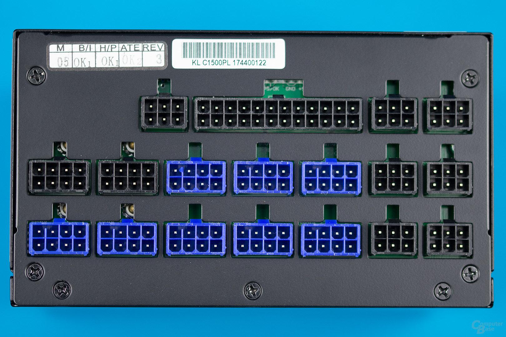 Kolink Continuum 1500W – Anschlussplatine