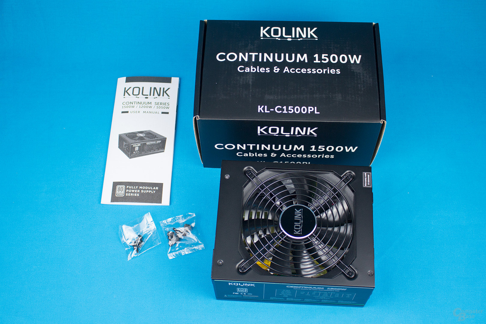 Kolink Continuum 1500W – Lieferumfang