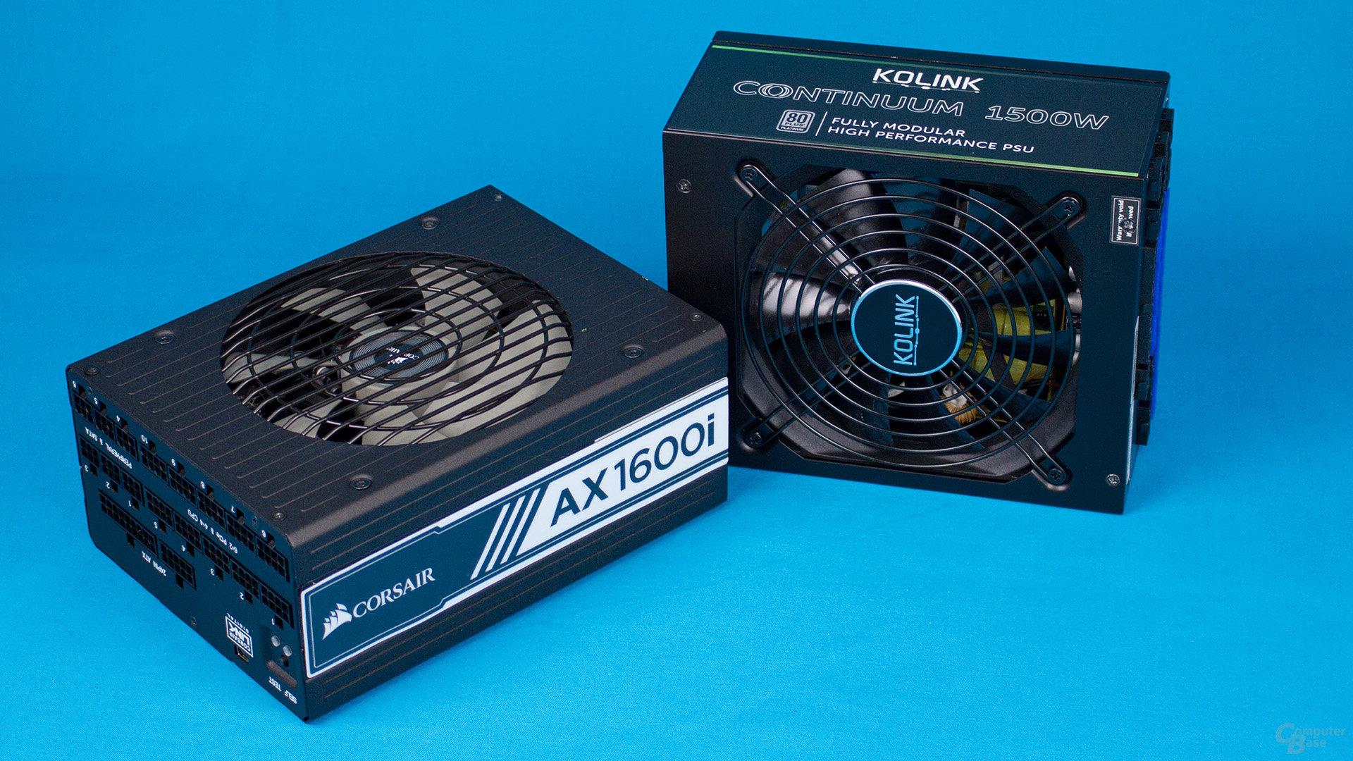 Hochleistungs-Netzteile im Test – Corsair AX1600i & Kolink 1500W am Leistungslimit