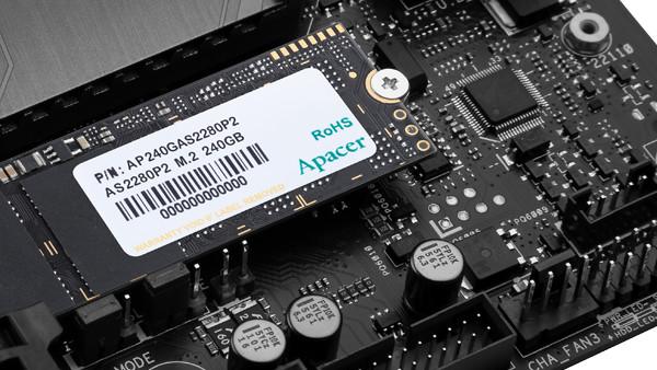 Apacer AS2280P2: PCIe-SSD ohne DRAM für Preiskampf schlecht gerüstet