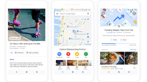 Neues Google Maps: Persönliche Empfehlungen und bald ein AR-Overlay