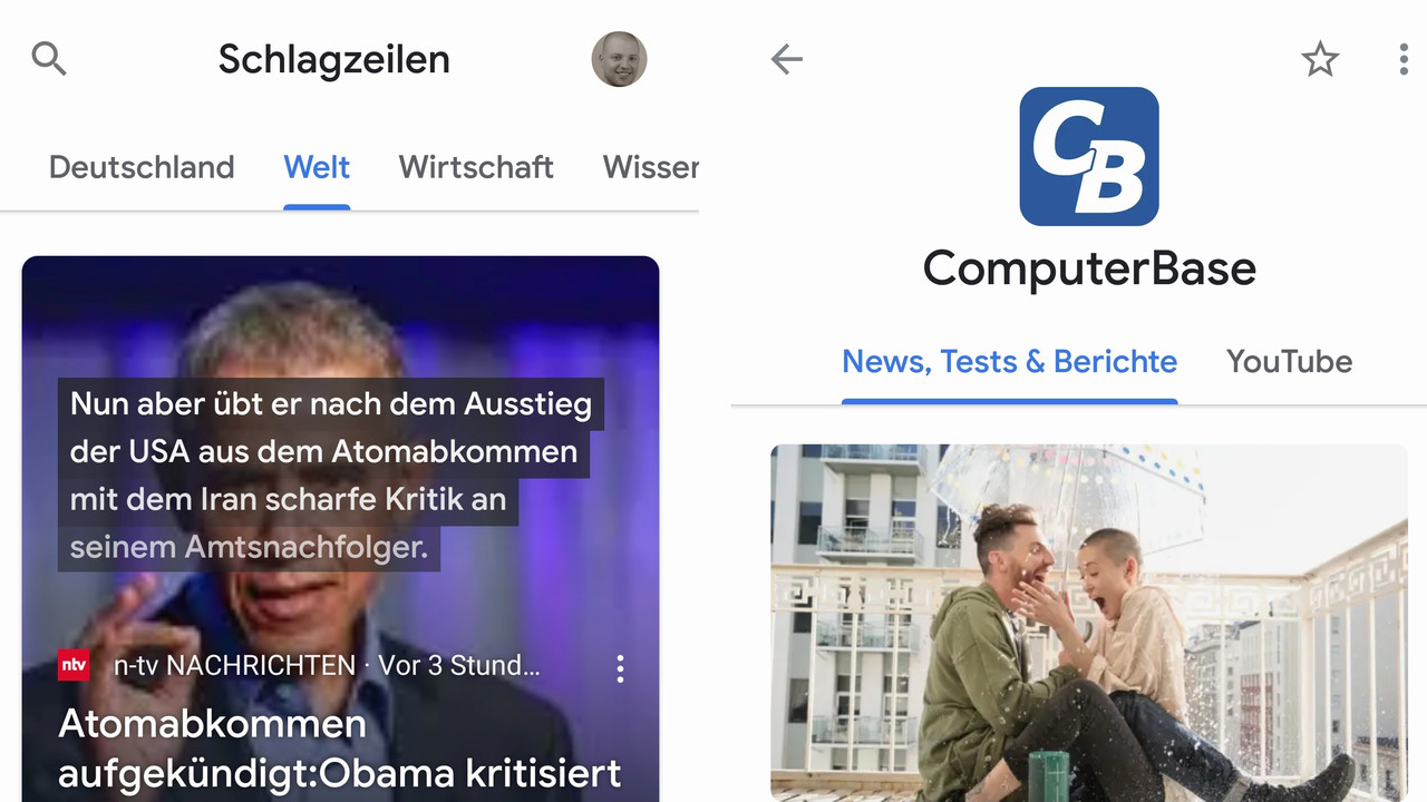 Nachrichten-App: Neues Google News schafft Übersicht dank KI