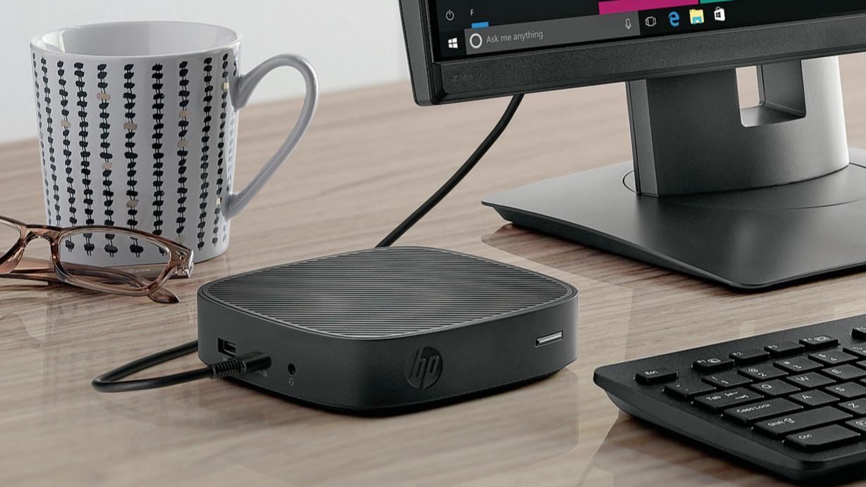 HP t430 Thin Client: Mini-Bürorechner mit USB C begnügt sich mit einem Kabel