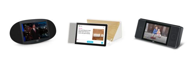 Smart Displays mit Google Assistant von Lenovo, JBL und LG