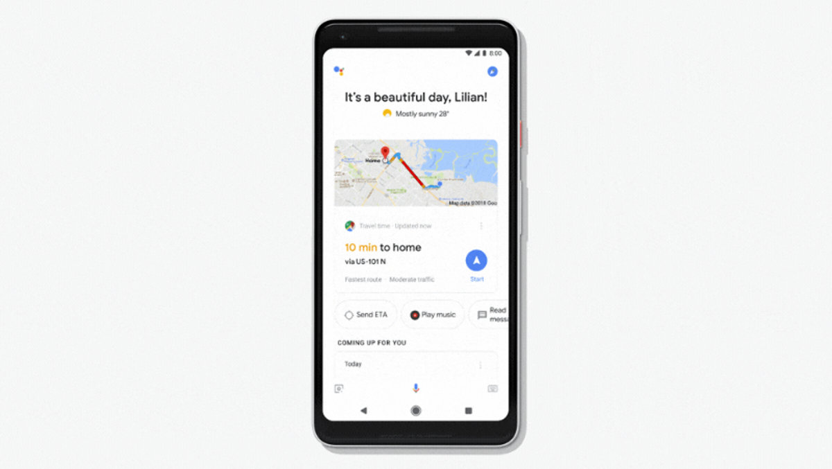 Die neue Tagesagenda des Google Assistant