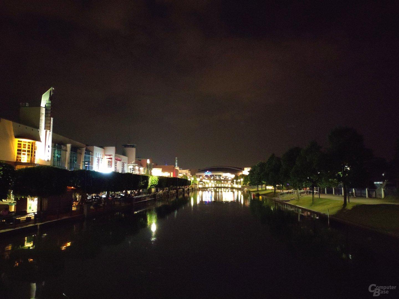 Nachtaufnahme mit dem Xiaomi Mi Mix 2S