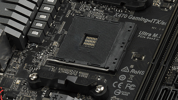 ASRock Fatal1ty X470 Gaming: Das 3. Mini-ITX-Mainboard für AMD Ryzen 2000