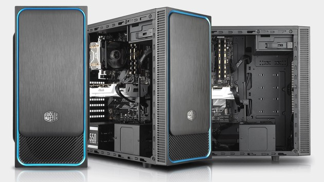 MasterBox E500L: Budget-Tower hat mehr Platz oder ein Seitenfenster