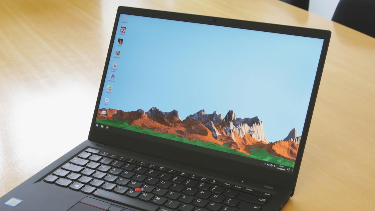 ThinkPad X1 Carbon G6 im Test: Lenovos fast perfektes Business-Notebook