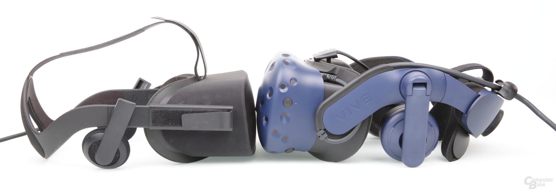 Oculus Rift vs. HTC Vive Pro