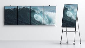 Surface Hub 2: Ein bis vier Mal 50,5 Zoll zum konkurrenzfähigen Preis