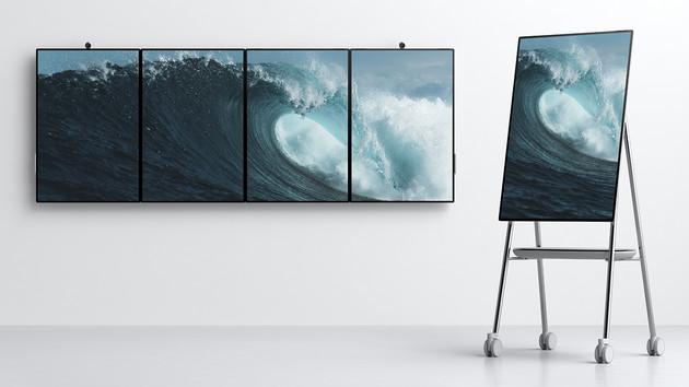 Surface Hub 2S & 2X: Ein bis vier Mal 50,5 Zoll zum konkurrenzfähigen Preis