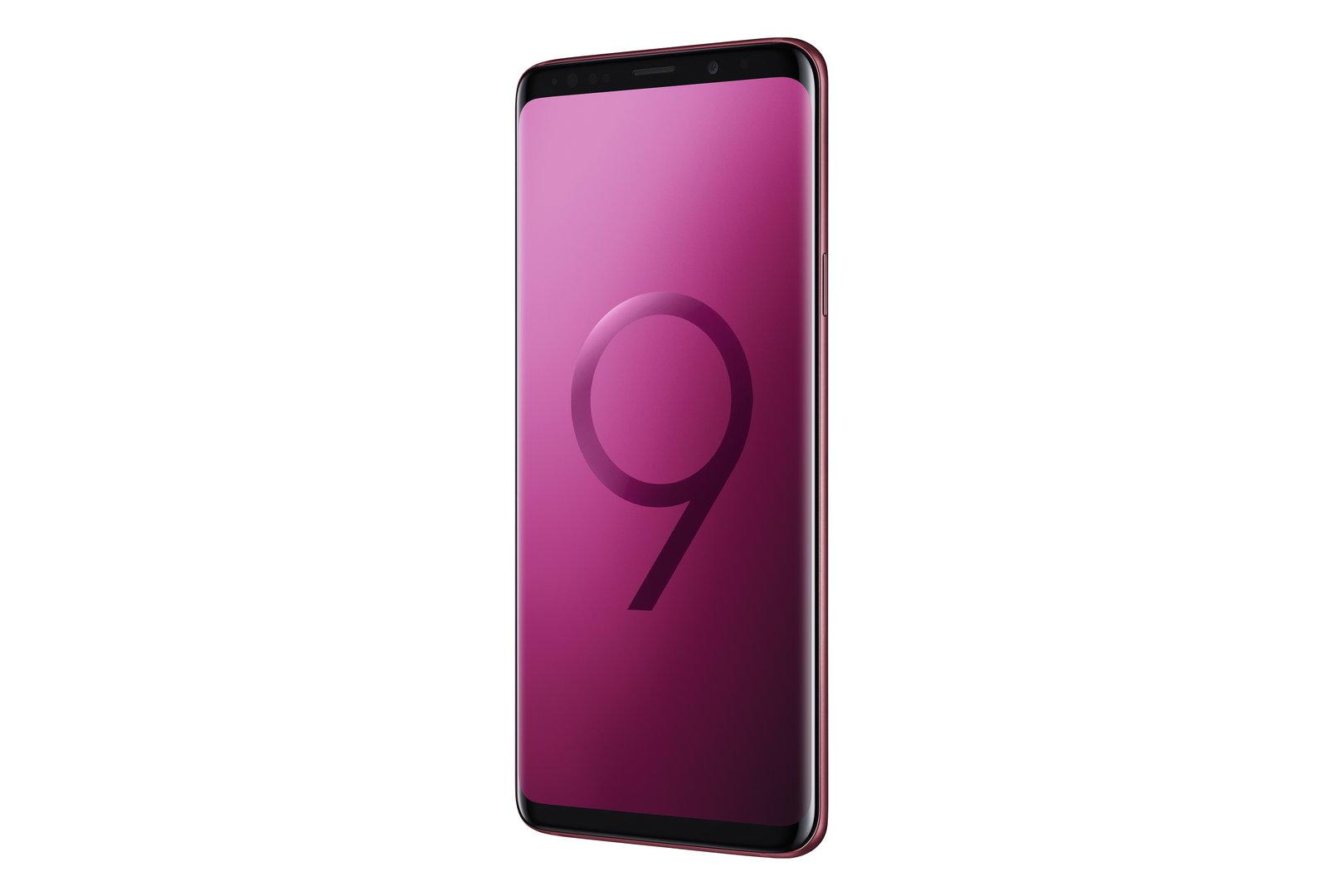 Samsung Galaxy S9 und S9+ in Burgundy Red