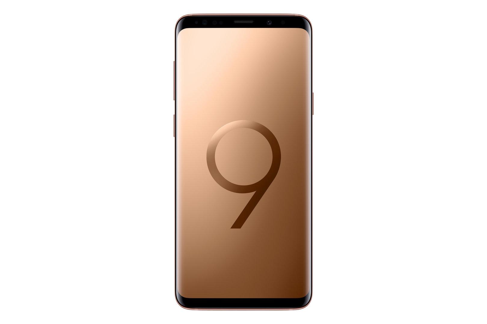 Samsung Galaxy S9 und S9+ in Sunride Gold