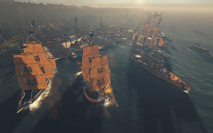 Kriegerische Auseinandersetzungen nur auf der See