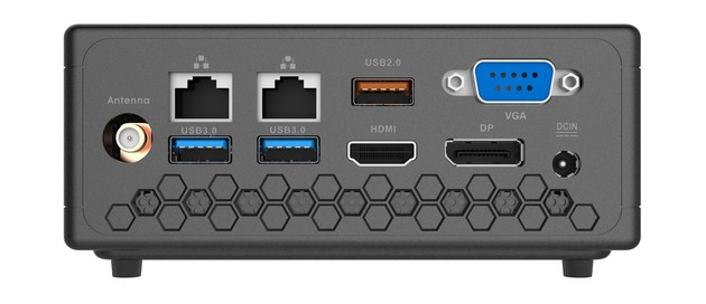 Zotac Zbox CI329 Nano – Rückseite