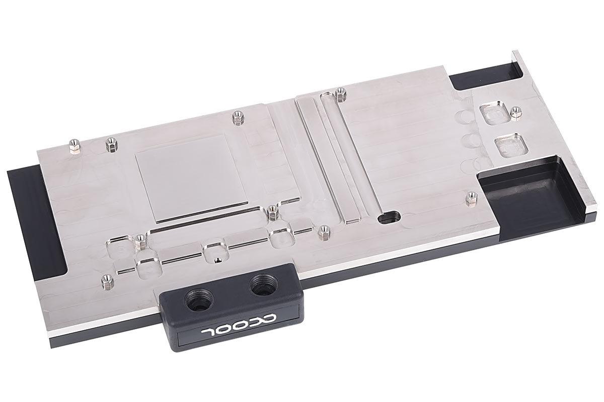 Alphacool Eisblock GPX Acetal: Vernickelter Kupferkühler
