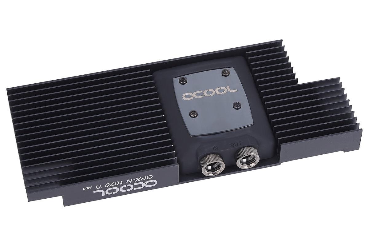 Alphacool NexXxos GPX: Nur die GPU wird aktiv gekühlt