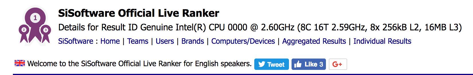 Acht-Kern-Coffee-Lake-CPU als Engineering Sample