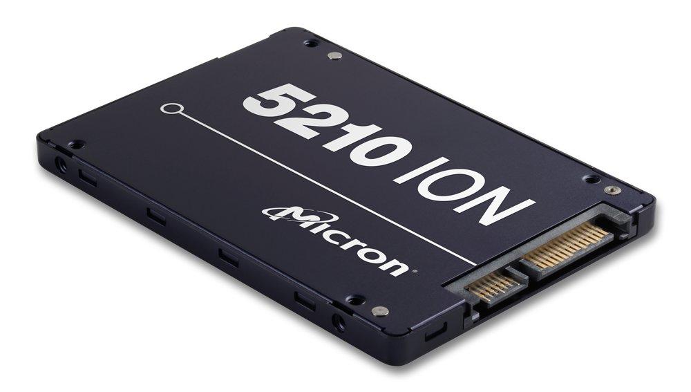 Micron 5210 ION SSD mit QLC-3D-NAND