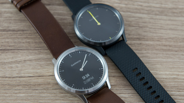 v vomove hr im test garmins hybride smartwatch zieht an. Black Bedroom Furniture Sets. Home Design Ideas