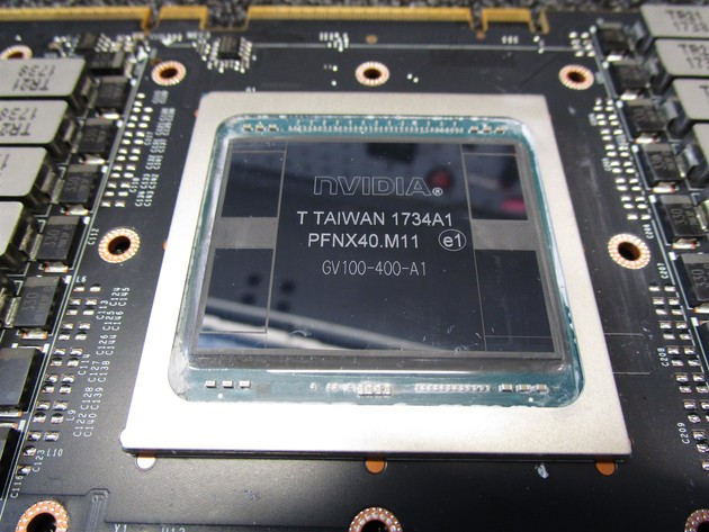 Nvidia GV100-GPU mit HBM2-Speicher