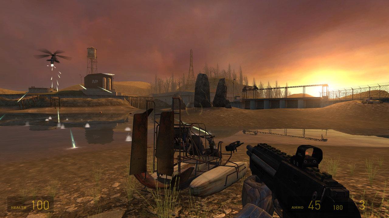 Half-Life 2 - Airboat