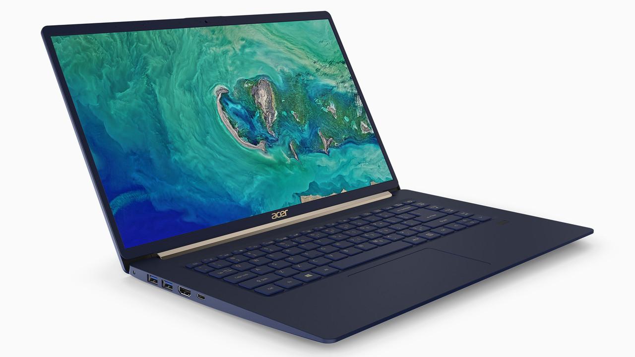 Swift 3 und Swift 5: Acer legt leichte Notebooks mit besseren Displays neu auf