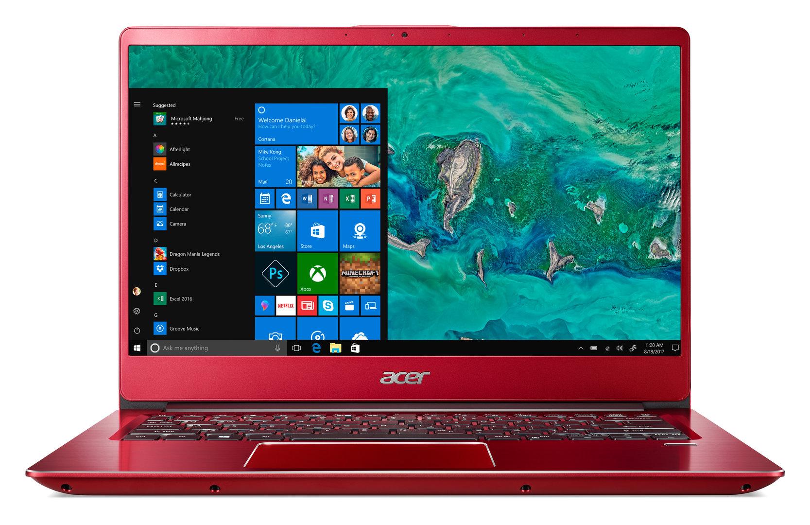Acer Swift 3 (2018) (14 Zoll) (Rot)
