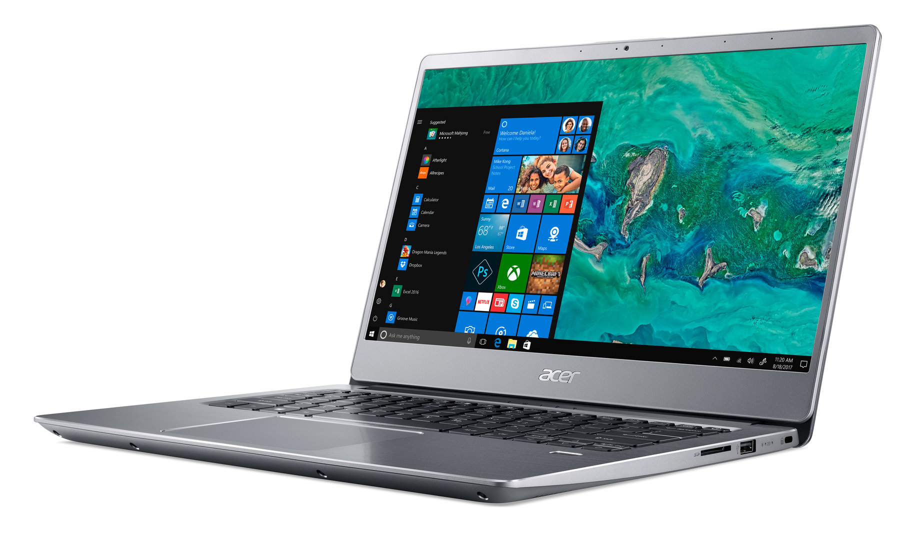 Acer Swift 3 (2018) (14 Zoll) (Silber)