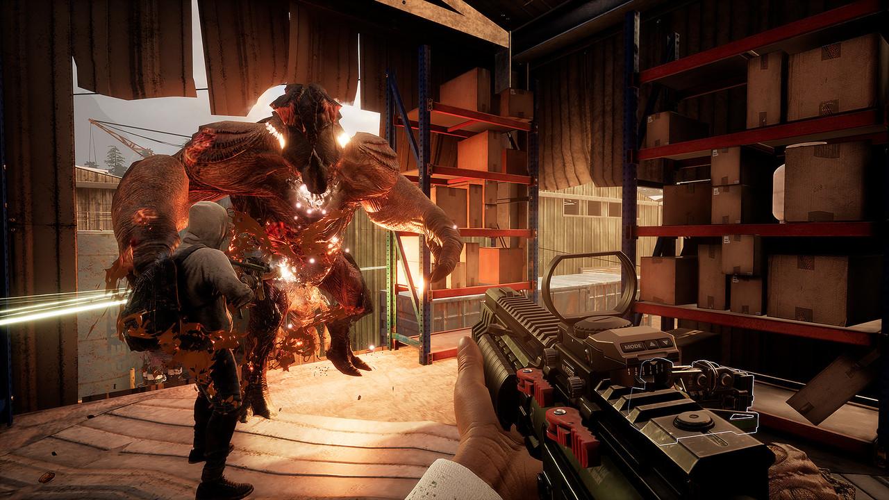 """Earthfall: """"Left-4-Dead"""" mit Aliens erscheint am 13. Juli"""
