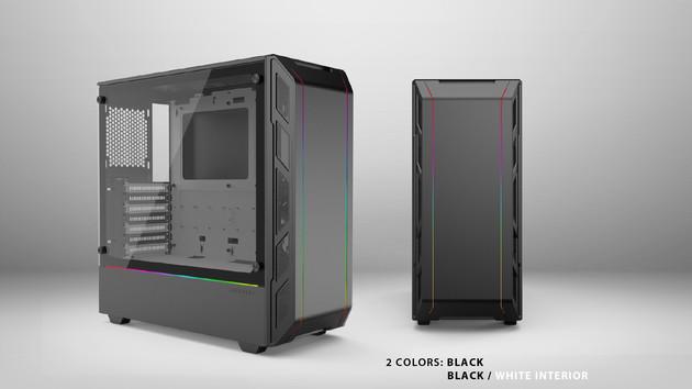 Phanteks Eclipse P350X: RGB-Glasgehäuse kommt erst im Juni