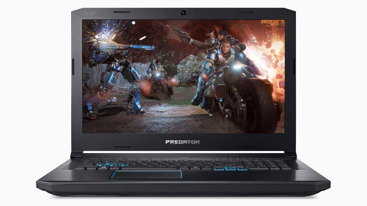 Acer Predator Helios 500: Gaming-Notebook kommt mit Core i9, GTX 1070 und 144 Hz