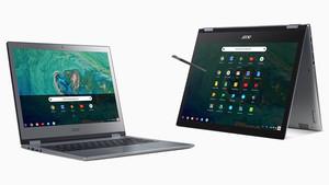 Acer Chromebook (Spin) 13: Premium‑Chromebooks mit 3:2-Display und Alu‑Gehäuse