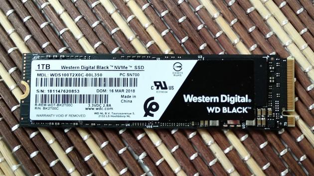 WD Black NVMe SSD: Mit mehr Leistung ein Konkurrent für die 970 Evo
