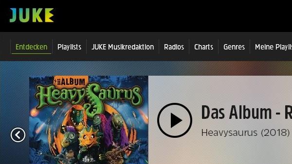 Musikstreaming: Juke mit großem Design- und Funktionsupdate