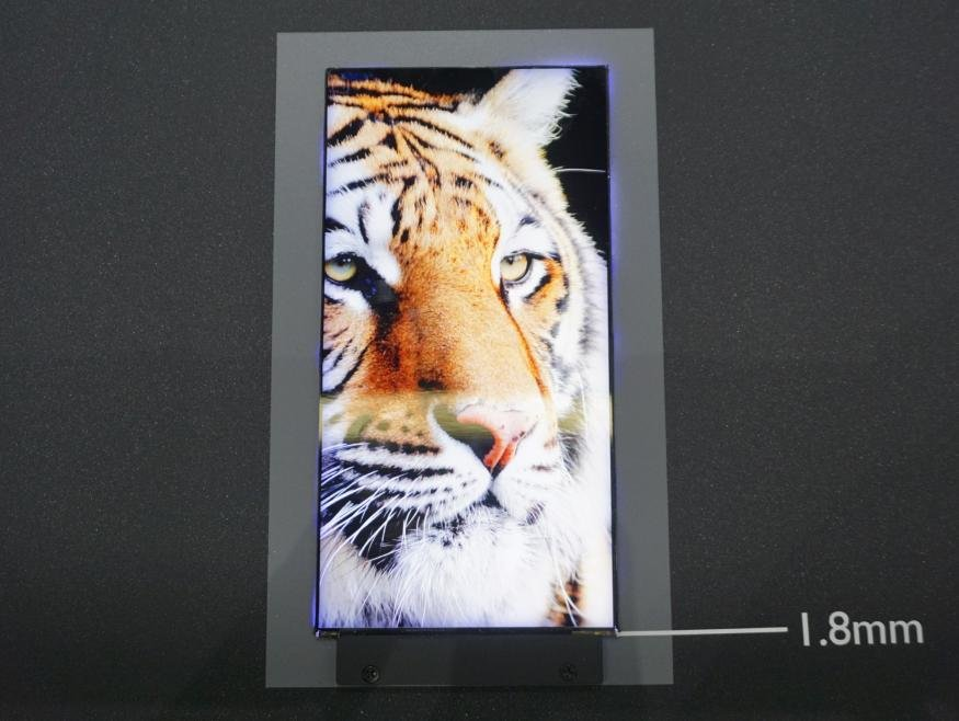 AUO zeigt Mini-LED-Display-Prototyp für Smartphones