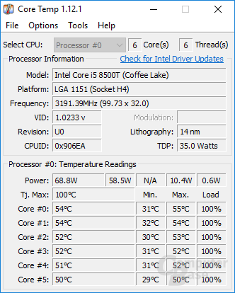 CoreTemp-Scr 8500t