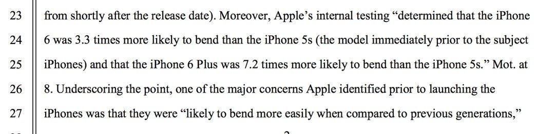 Biegung des iPhone 6 war deutlich wahrscheinlicher