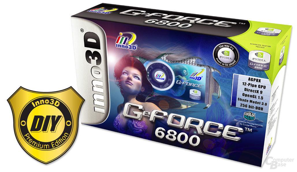Inno3D GeForce 6800 Verpackung