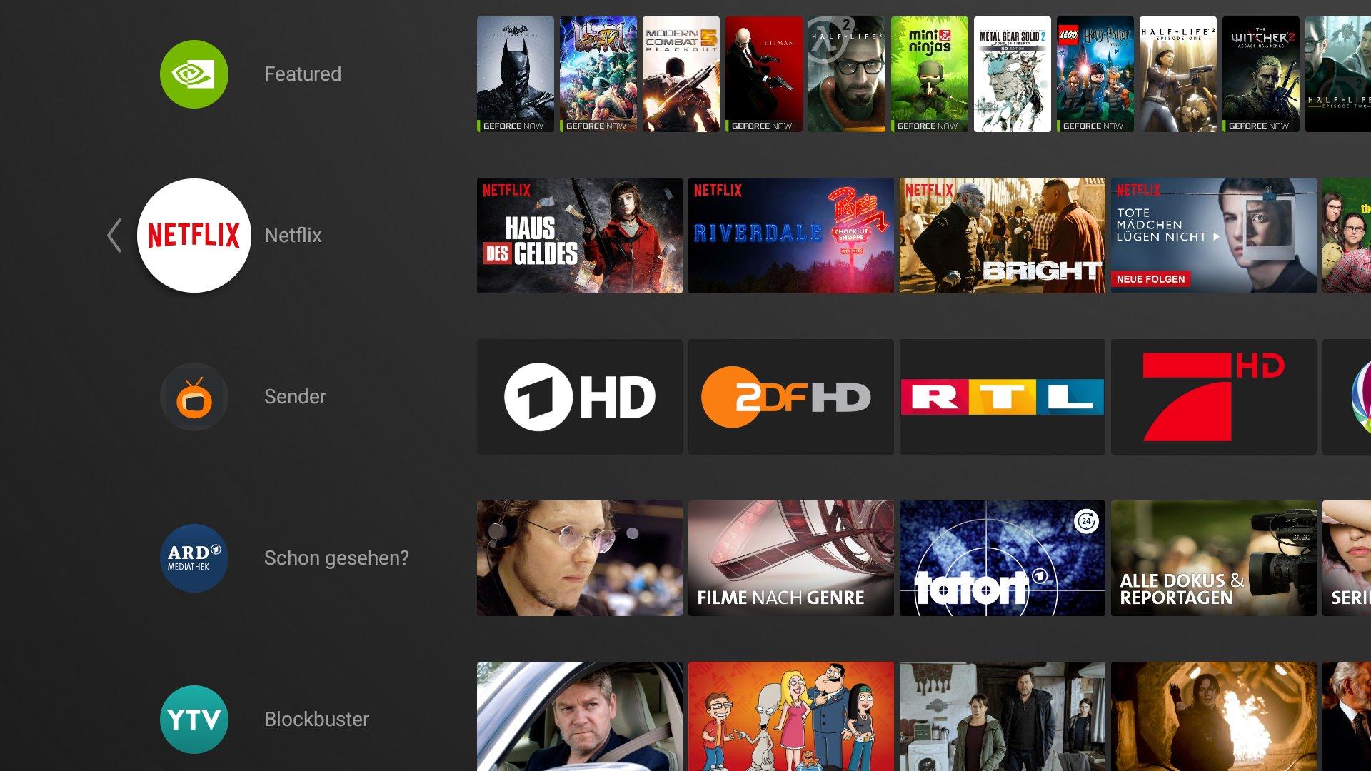 Streaming-Apps als Fernsehkanäle