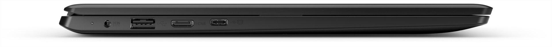 Stromanschluss, Micro-HDMI, USB Typ A (2.0) und USB Typ C mit DisplayPort
