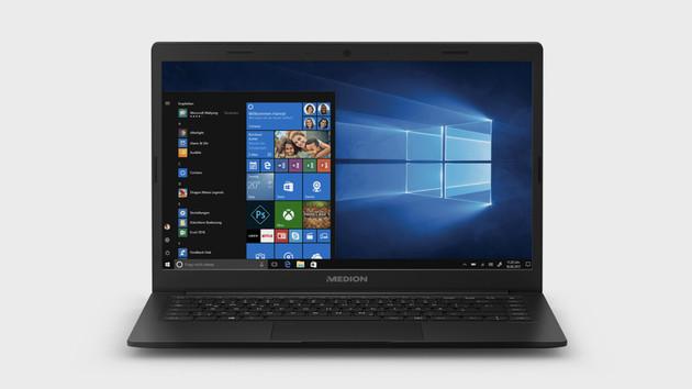 Medion Akoya E4254: 14-Zoll-Notebook mit Pentium und USB Typ C kostet 299 Euro