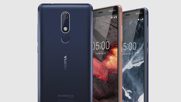 Nokia 2.1, 3.1 & 5.1: Aktuelles Android und Updates ab rund 120 Euro