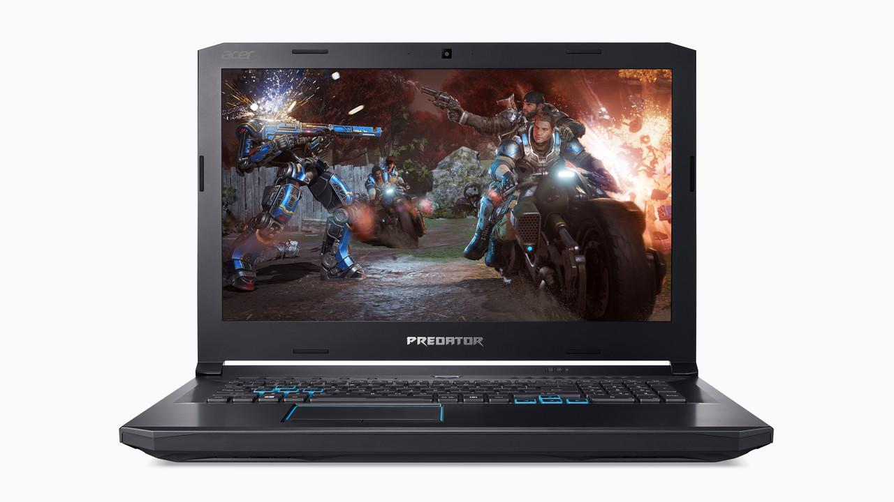 Acer Helios 500: Gaming-Notebook auch mit AMD Ryzen und RX Vega